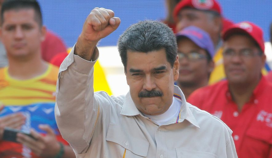 "Venezuelan President Nicolas Maduro ""is a dictator with no legitimate claim to power,"" Vice President Mike Pence said."