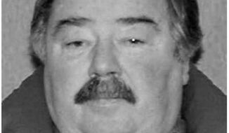 This 2008 drivers license photo released by the Rapid City Police Department shows Eugene Carroll Field. Police say they believe they've solved the murder of a pharmacist who was raped and strangled over 50 years ago in her South Dakota home. Detective Wayne Keefe said Monday, June 17, 2019 that investigators used DNA and genealogy databases to identify Eugene Carroll Field as the person who killed 60-year-old Gwen Miller in Rapid City in 1968. Field died in 2009. (Courtesy of The Rapid City Police Department via AP)
