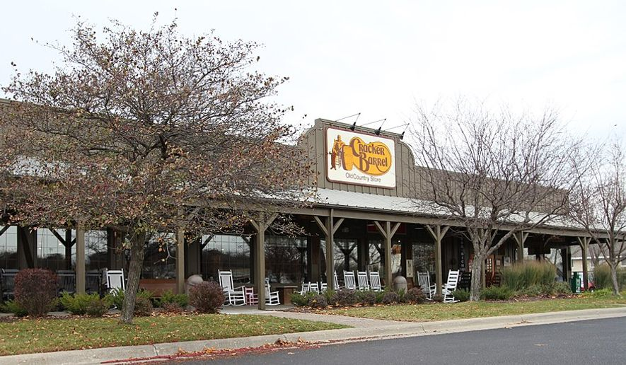 A Cracker Barrel restaurant in Minnesota (Wikipedia)