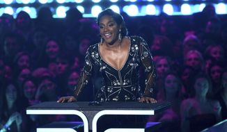 Tiffany Haddish presents the trailblazer award at the MTV Movie and TV Awards on Saturday, June 15, 2019, at the Barker Hangar in Santa Monica, Calif. (Photo by Chris Pizzello/Invision/AP) **FILE**