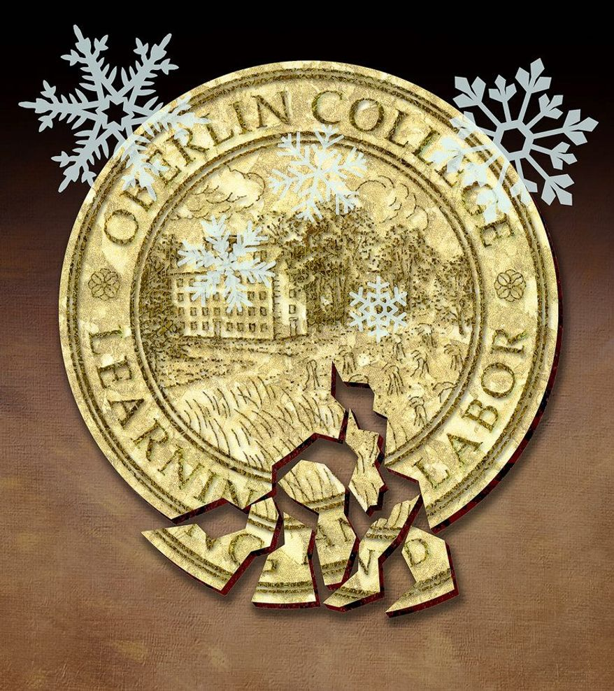 Snowflakes of Oberlin Illustration by Greg Groesch/The Washington Times