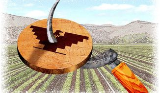 Farmer Gets His Way Illustration by Greg Groesch/The Washington Times