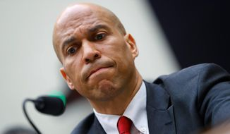 Democratic Presidential candidate Sen. Cory A. Booker said that persistent inequality is a cancer on society. He supports reparations.