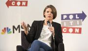 Kasie Hunt attends Politicon at The Pasadena Convention Center on Sunday, Aug. 30, 2017, in Pasadena, Calif. (Photo by Colin Young-Wolff/Invision/AP)