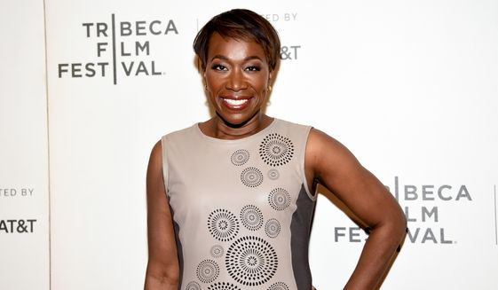 "In this April 20, 2018, file photo, Joy Reid attends the Tribeca TV screening of ""Rest in Power: The Trayvon Martin Story"" during the 2018 Tribeca Film Festival in New York. (Photo by Evan Agostini/Invision/AP, File)"