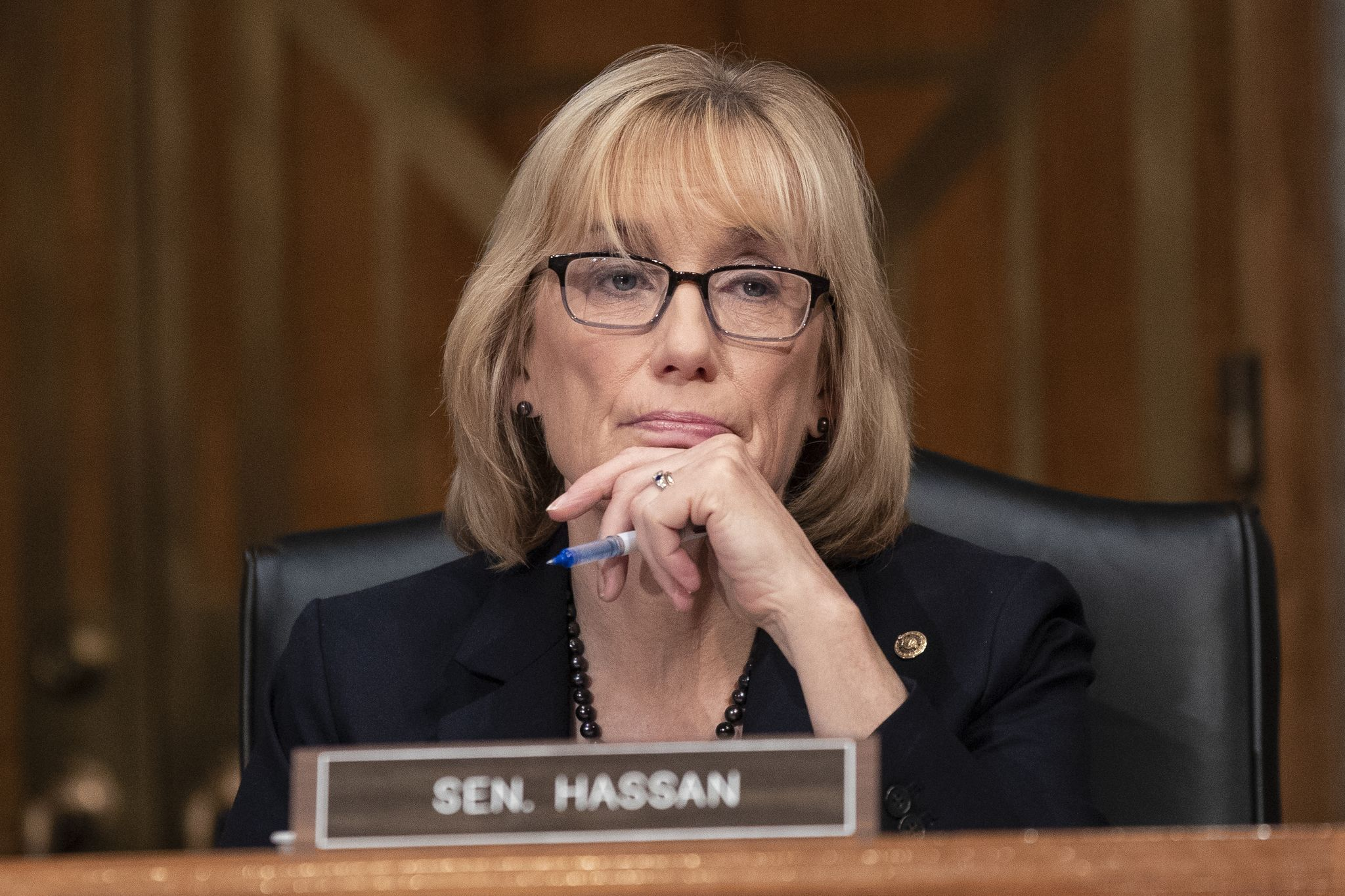 Second Maggie Hassan aide charged with doxxing Republican senators