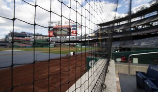 Nationals Park in Washington. (AP Photo/Manuel Balce Ceneta)