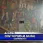 "San Francisco's Washington High School will send anywhere from $375,000 to $825,000 to mollify citizens who are upset over a George Washington mural. Some locals say the mural is ""racist."" (Image: Fox 2, KTVU video screenshot)"