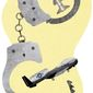 Handcuffed Illustration by Greg Groesch/The Washington Times