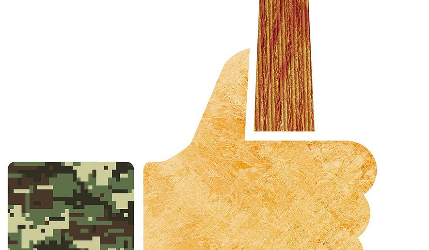 Veteran Courts Program Illustration by Greg Groesch/The Washington Times