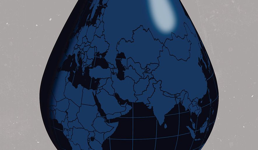 Global Energy Security Illustration by Linas Garsys/The Washington Times