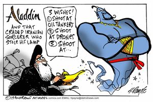 Aladdin and that crazed Iranian sorcerer ...