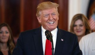 President Donald Trump speaks before signing an executive order on improving price and quality transparency in healthcare at the White House in Washington, Monday, June 24, 2019. (AP Photo/Carolyn Kaster) **FILE**