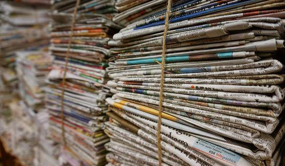 Newspapers image via Pixabay