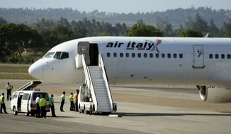 Air Italy has 15 aircraft, but only five are capable of long-haul service. The combined fleet of the largest U.S. carriers is 4,500 planes. The Big Three and their alliance partners control more than 90% of trans-Atlantic capacity. (Associated Press)