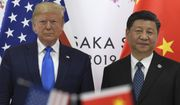 President Donald Trump, left, poses for a photo with Chinese President Xi Jinping during a meeting on the sidelines of the G-20 summit in Osaka, Japan, Saturday, June 29, 2019. (AP Photo/Susan Walsh)