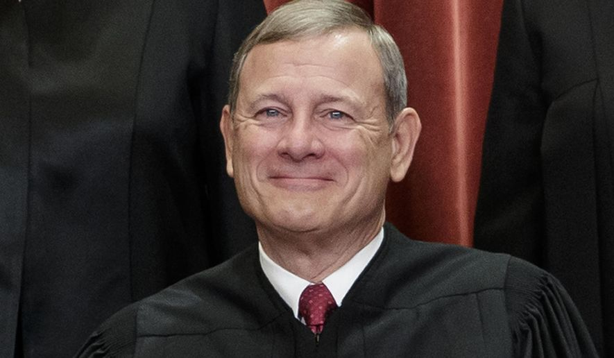 Chief Justice John G. Roberts Jr. braved criticism and talk of impeachment from some conservatives after siding with the court's four Democratic appointees to stymie one of President Trump's biggest priorities. (Associated Press/File)