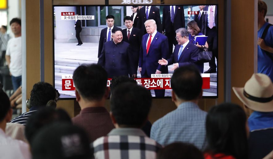 Donald Trump's visit to Kim Jong-un impresses South Korea