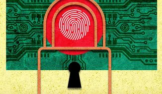 Bangladesh Cyber Security Illustration by Greg Groesch/The Washington Times