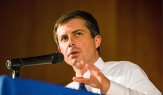 Democratic presidential candidate Pete Buttigieg posted $24.8 million in fundraising for the last three months. His performance at the recent debates helped to bolster his 2020 campaign efforts. (Associated Press) ** FILE **