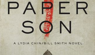 """This cover image released by Pegasus shows """"Paper Son,"""" a novel by S.J. Rozan. (Pegasus via AP)"""