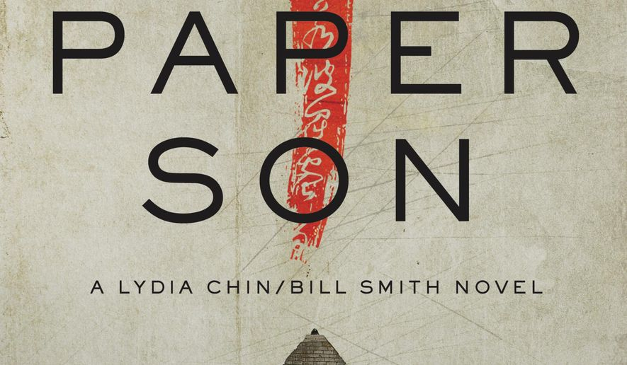 "This cover image released by Pegasus shows ""Paper Son,"" a novel by S.J. Rozan. (Pegasus via AP)"