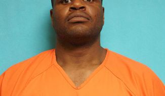 This photo provided by the Coppell Police Department shows Josh Brent. The former Dallas Cowboys player is being held on charges that include assaulting a public servant after authorities say officers found him intoxicated outside a Dallas-area fast food restaurant. Coppell police Sgt. Sammy Lujan says officers responded Sunday, June 30, 2019, after a caller expressed concern about a man talking to himself. Lujan says the 31-year-old Brent was intoxicated and resisted as officers attempted to place him in handcuffs. He was taken into custody after officers shot him using a stun gun.(Coppell Police Department via AP)