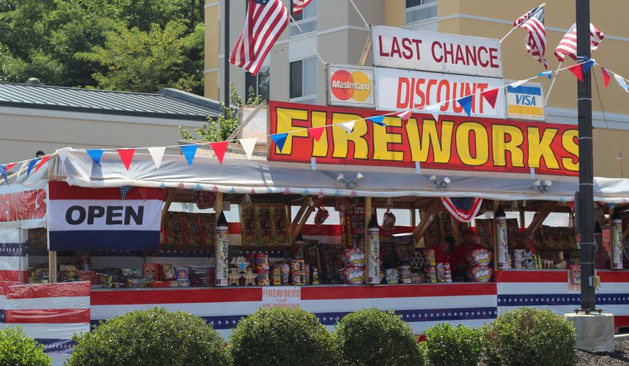 The fireworks industry may be uniquely dependent on good U.S.-Chinese trade relations, with an estimated 93% of all U.S. fireworks coming from China. (Photograph by Moss Brennan  The Washington Times)