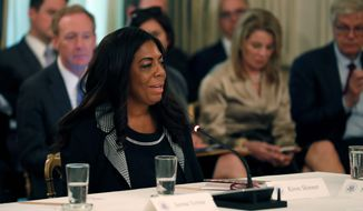 Kiron Skinner, Secretary of State Mike Pompeo's director of policy and planning, came under fire in April for remarks she made about China. (Associated Press)
