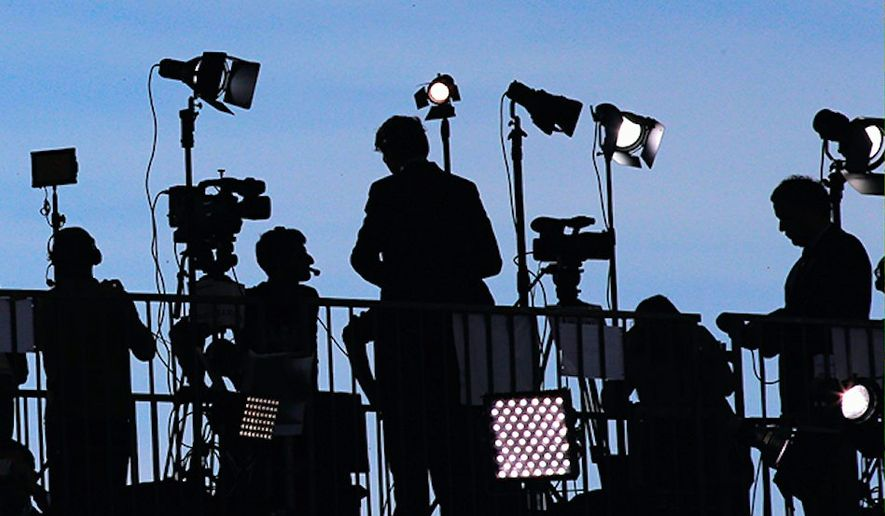 New research suggest that the Sunday political talk shows are losing their audience. They're averaging only 2.3 million viewers. (Associated Press)