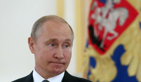 The Latest Tall Tale From Moscow And A Riyadh Reminiscence Washington Times