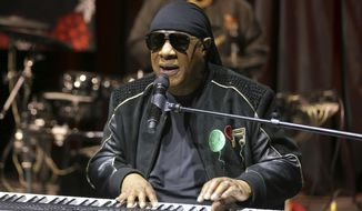 "In this Tuesday, Nov. 27, 2018, file photo, Stevie Wonder performs live at the ""House Full of Toys 22nd Annual Benefit Concert"" press conference in Los Angeles. Wonder says he will be receiving a kidney transplant this fall. The 69-year-old music legend made the announcement to concertgoers in England on Saturday, July 6, 2019. (Photo by Willy Sanjuan/Invision/AP, File)"