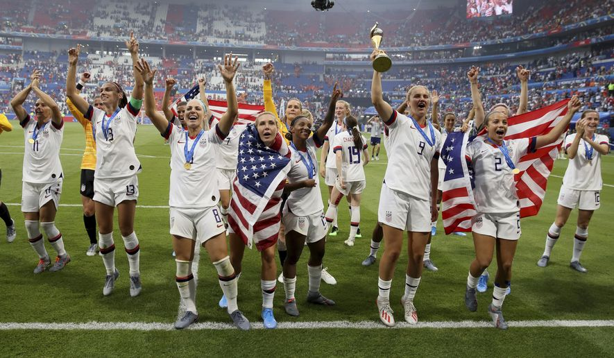 Who Won The World Cup 2020 Soccer.Trump 2020 Field Congratulate U S Women S Soccer Team On