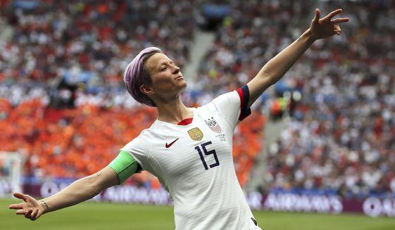 67f36ace U.S. Soccer says women make more than men - Washington Times