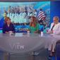 """Members of the panel on ABC's """"The View"""" discuss U.S. women's soccer, July 8, 2019. (Image: ABC, """"The View"""" screenshot)"""