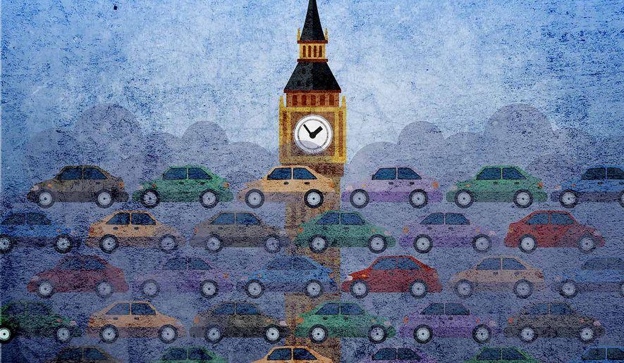 London Fog Illustration by Greg Groesch/The Washington Times