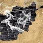 Afghan Burnout Illustration by Greg Groesch/The Washington Times