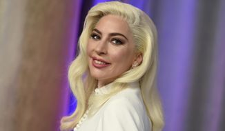FILE - This Feb. 4, 2019 file photo shows Lady Gaga at the 91st Academy Awards Nominees Luncheon in Beverly Hills, Calif. The Oscar-winning singer announced her upcoming beauty line, Haus Laboratories, reportedly to be sold on Amazon come September.(Photo by Jordan Strauss/Invision/AP, File)