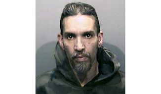 """FILE - This Monday, June 5, 2017, file photo released by the Alameda County Sheriff's Office shows Derick Almena at Santa Rita Jail in Alameda County, Calif. The leader of a San Francisco Bay Area warehouse where a fire killed 36 people more than two years ago has taken the stand in his defense for the first time. Almena is accused of illegally converting the so-called Ghost Ship warehouse into an artist live-work space where the Dec. 2, 2016, fire broke out during an electronic music concert. Almena testified Monday, July 8, 2019 that he feels responsible for building the community of artists and is """"responsible for having the idea"""" for the Ghost Ship. (Alameda County Sheriff's Office via AP, File)"""