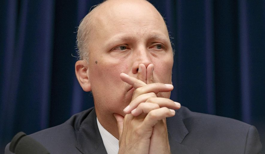 Rep. Chip Roy, Texas Republican, is shown in this undated file photo. (AP Photo/Jacquelyn Martin)  **FILE**
