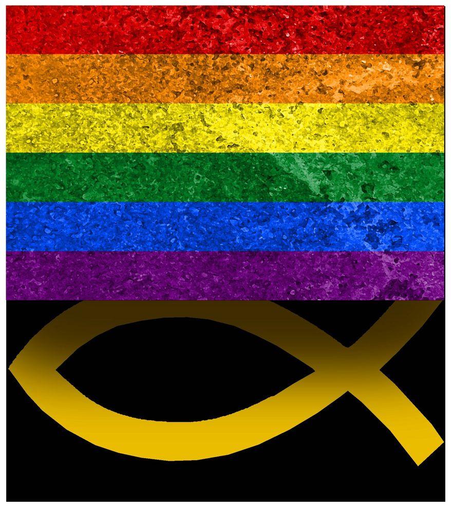 Illustration on advancing the LGBTQ agenda by Alexander Hunter/The Washington Times