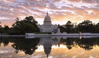The U.S. Capitol, now scene of increasing hostilities. (Associated Press)