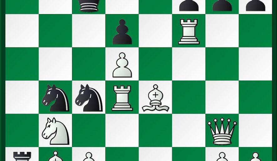 Andriasian-Gabuzyan after 27...Ne5-c4.