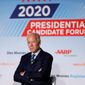 Democratic presidential candidate Joseph R. Biden has struggled to connect with progressive activists within the party. speaks during a presidential candidates forum sponsored by AARP and The Des Moines Register, Monday, July 15, 2019, in Des Moines, Iowa. (AP Photo/Charlie Neibergall) (Associated Press)