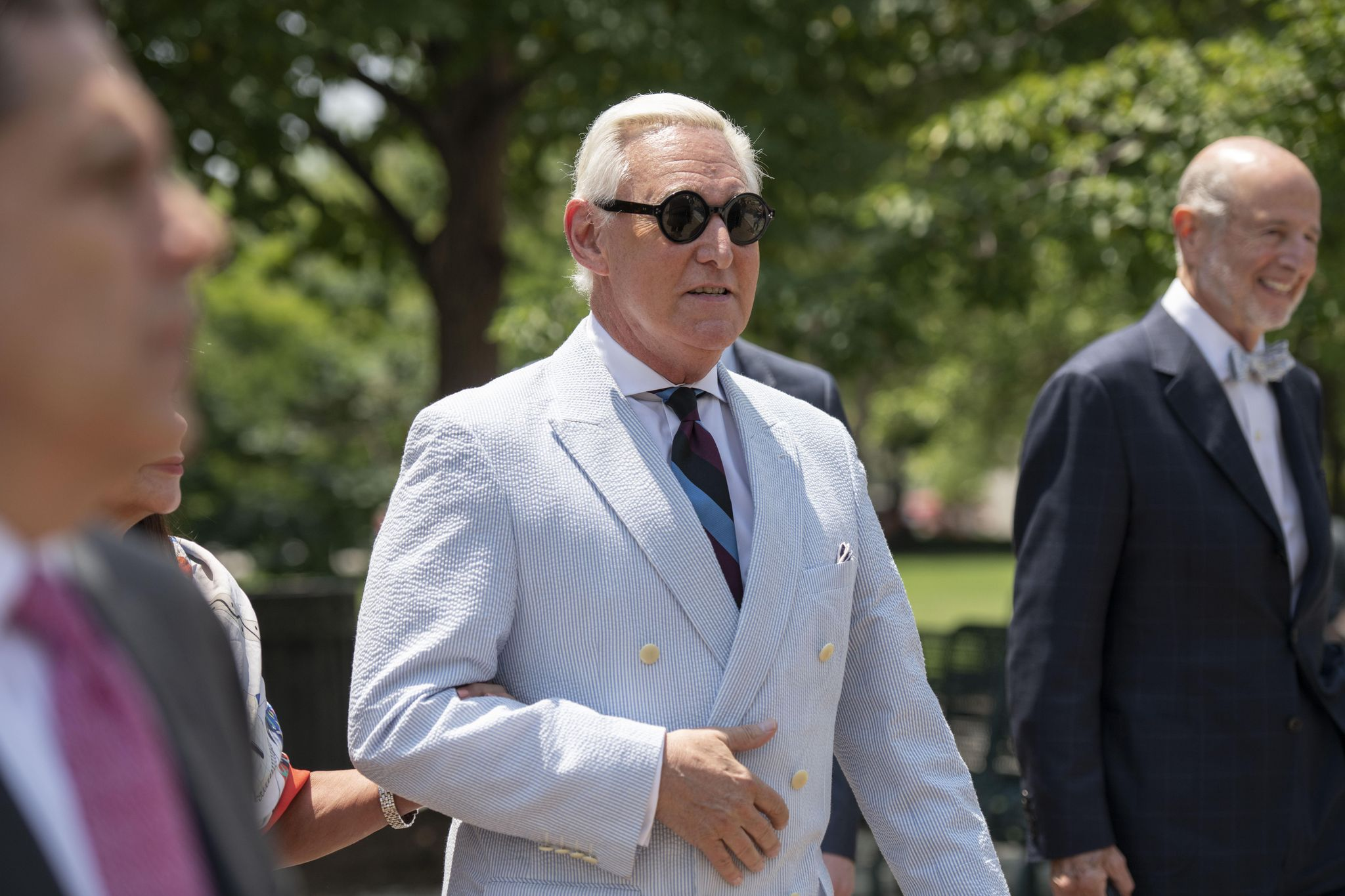 Roger Stone files petition contesting social media gag order