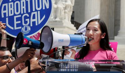 """Dr. Leana Wen, who became the president of Planned Parenthood in November 2018, was forced out of her job. In a statement posted on Twitter, she said she had """"philosophical differences"""" with the new chairs of Planned Parenthood's board. (Associated Press) ** FILE **"""