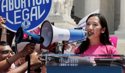 "Dr. Leana Wen, who became the president of Planned Parenthood in November 2018, was forced out of her job. In a statement posted on Twitter, she said she had ""philosophical differences"" with the new chairs of Planned Parenthood's board. (ASSOCIATED PRESS)"