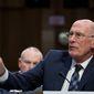 President Trump may soon be replacing Director of National Intelligence Dan Coats. (Associated Press)