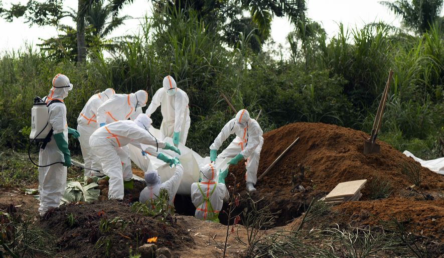 Health officials in Congo have been working since August to reel in a stubborn outbreak that has claimed over 1,675 victims. (Associated Press/File)