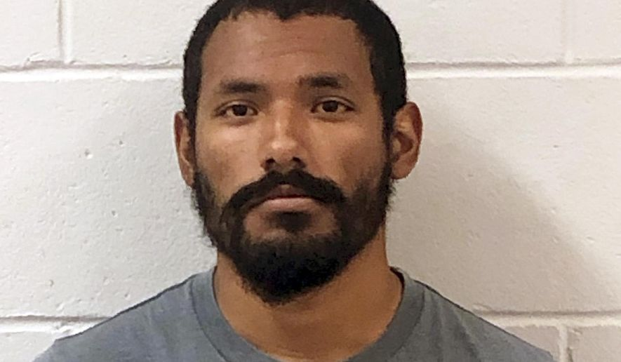 This Tuesday, July 16, 2019 booking photo released by the Keene, Police Department shows Alexander Waterbury, of Keene, N.H., who was arrested Tuesday and charged with four counts of felonious sexual assault and two counts of prohibited sales of alcohol. Police said that Waterbury coached the girls soccer team at Monadnock Regional Middle-High School in Swanzey at the time of the alleged assaults, but It is unclear if the victim was on the team. (Keene Police Department via AP)